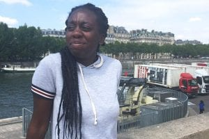 Ca'Shawn Brown, a rising junior in the Honors College at Georgia State University, spent most of May studying French, sign language and deaf culture in Montpellier and Paris, France.